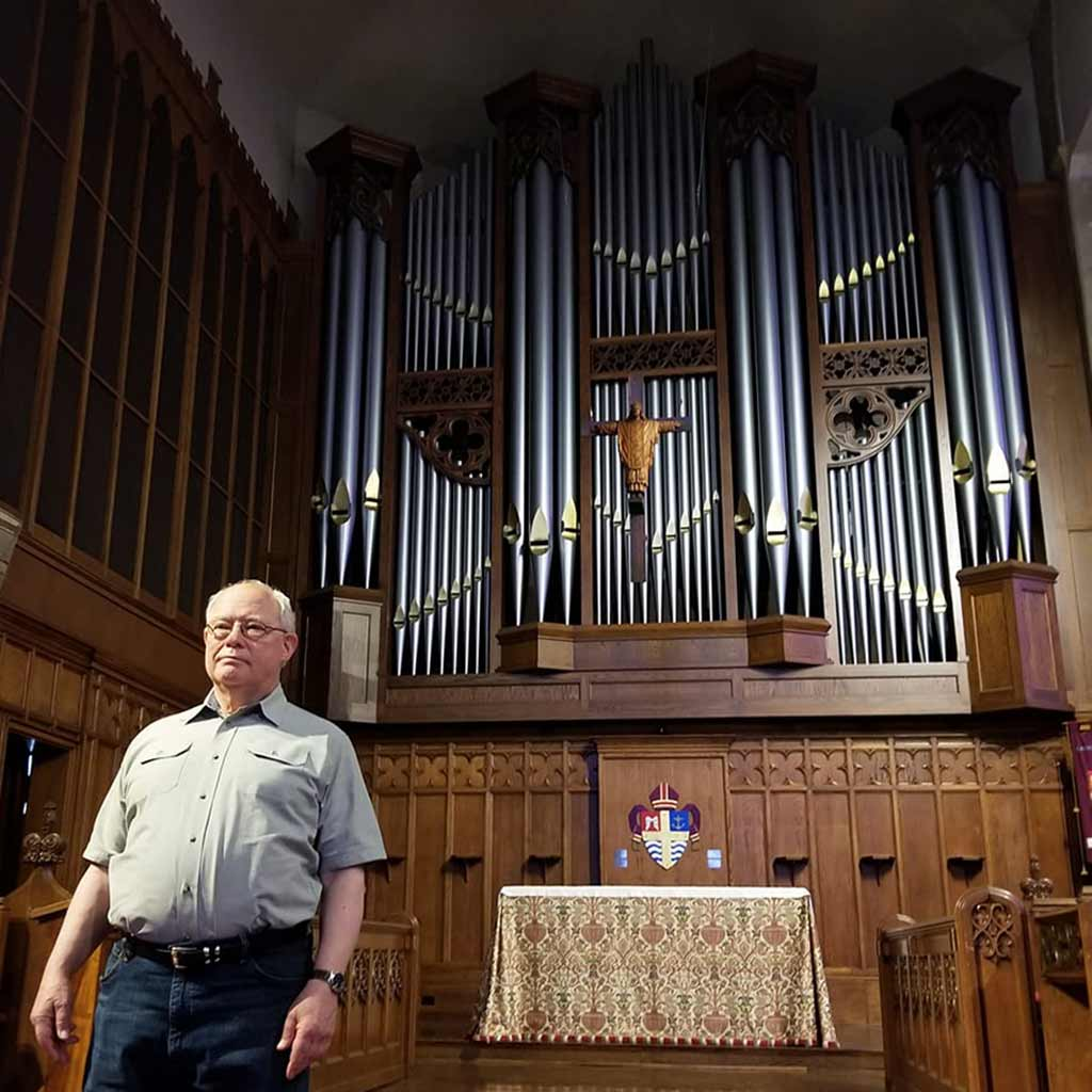 Michael Quimby with Opus 68 (2012) at St. Paul's Episcopal Cathedral in San Diego, California.