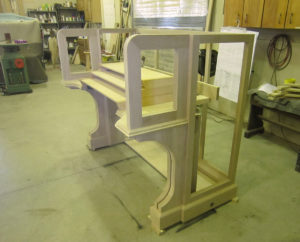 Quimby Pipe Organs, Wood Shop