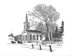 Milton Trinity Episcopal Church, Litchfield, CT Artist's Rendering