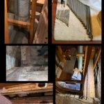 Church of the Messiah, Rhinebeck, NY - removal photos